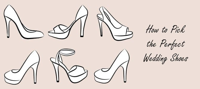 How to Pick the Perfect Wedding Shoes