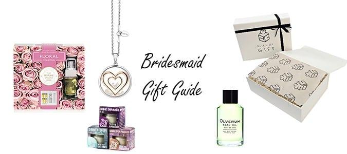 Bridesmaid Gifts Header Image